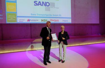 LIFTKAR Treppensteiger - überregionale Auszeichnung BBA best business award