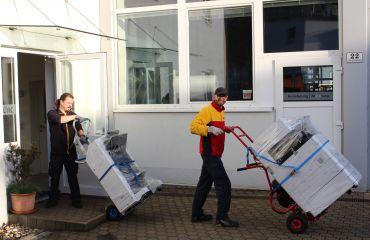 LIFTKAR Treppensteiger für Transport bis 360 kg