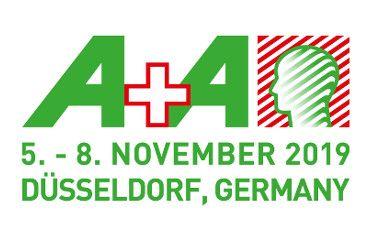 Messe A+A in Düsseldorf