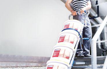 LIFTKAR Treppensteiger für gesunden Rücken der Restauratoren und Handwerker