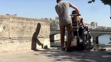LIFTKAR PTR Treppenraupe – unterwegs in Paris
