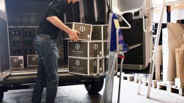 Unikar Hand-Hubkarre  - Wein (Schachteln)